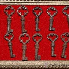 Antigüedades: 14 LLAVES ANTIGUAS . Lote 35511705