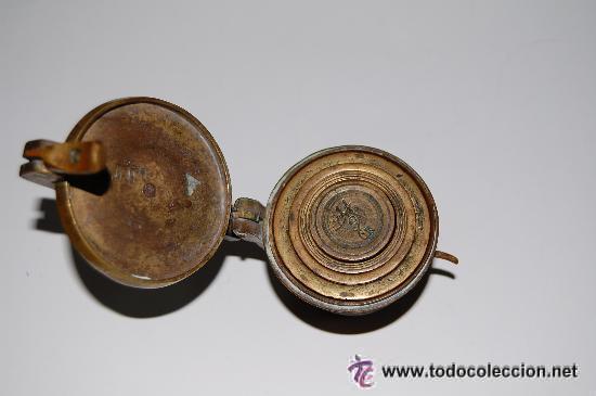 Antigüedades: PONDERAL DE VASOS COMPLETO. ANTIGUO SISTEMA DE PESAS - Foto 3 - 35527906