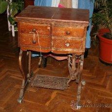 Antigüedades: ANTIGUA MAQUINA DE COSER SINGER FUNCIONANDO. Lote 35556378