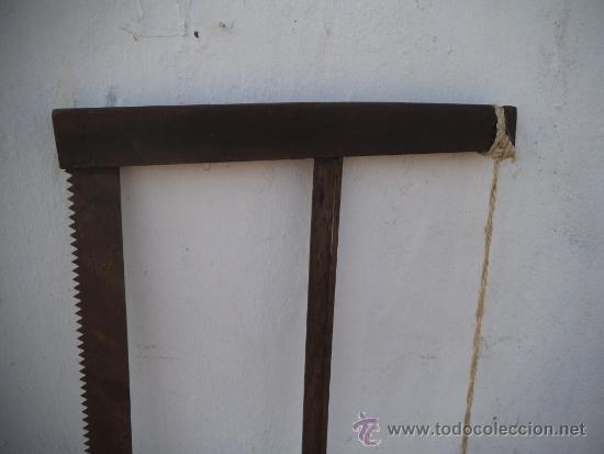 Antigüedades: sierra de carpintero - Foto 2 - 35605896