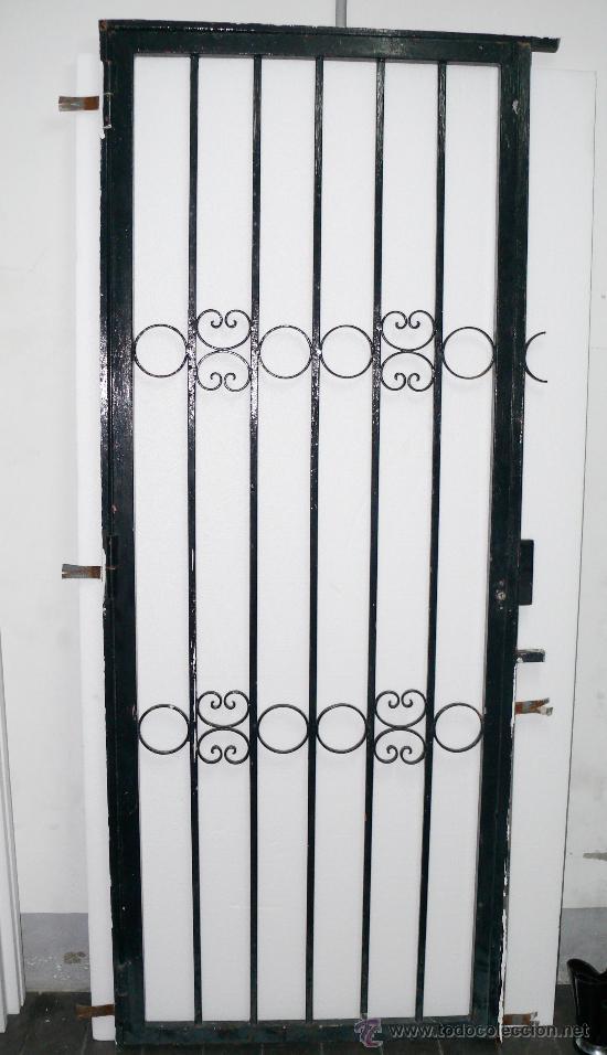 Unica puerta hierro forja para jardin o chale comprar - Puertas de hierro para jardin ...