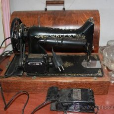 Antigüedades: MAQUINA DE COSER SINGER . Lote 35712144