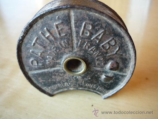 Antigüedades: portapelicula para proyector Pathe Baby - Foto 4 - 35797961