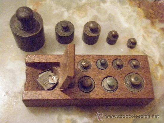 Antigüedades: PONDERAL 9 X 2 X 35 PESOS ANTIGUOS - PONDERAL COMPLETO Y EXTRAS - Foto 3 - 35817706