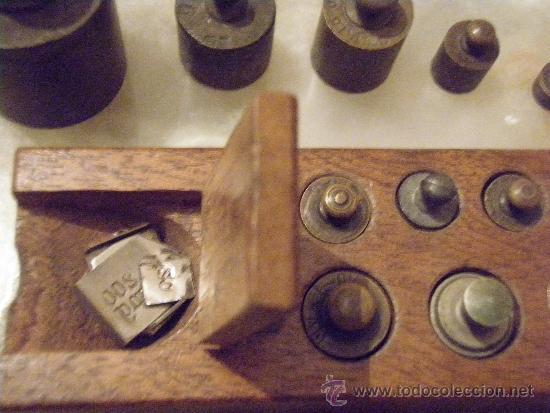 Antigüedades: PONDERAL 9 X 2 X 35 PESOS ANTIGUOS - PONDERAL COMPLETO Y EXTRAS - Foto 4 - 35817706