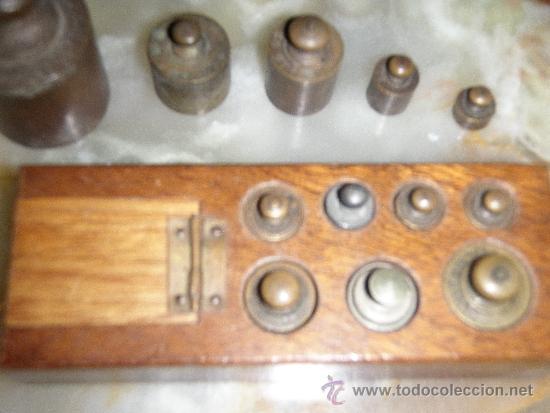 Antigüedades: PONDERAL 9 X 2 X 35 PESOS ANTIGUOS - PONDERAL COMPLETO Y EXTRAS - Foto 5 - 35817706