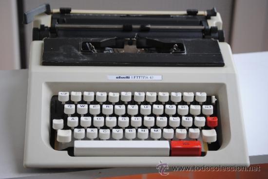 MAQUINA ESCRIBIR OLIVETTI LETTERA 42 (Antigüedades - Técnicas - Máquinas de Escribir Antiguas - Olivetti)