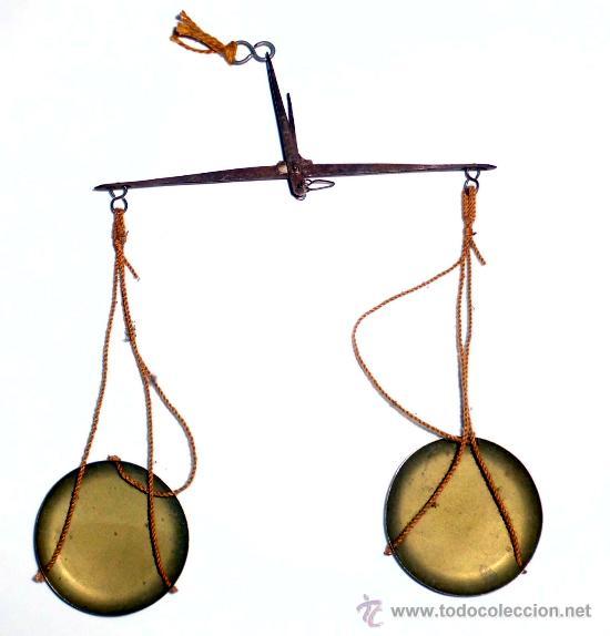 KILATERO DE FORJA Y BRONCE (Antigüedades - Técnicas - Medidas de Peso - Básculas Antiguas)
