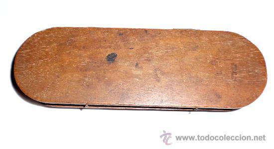 Antigüedades: azafranero, kilatero con estuche de madera - Foto 2 - 35883079