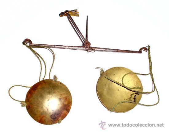 Antigüedades: azafranero, kilatero de forja con caja de madera - Foto 5 - 35883932