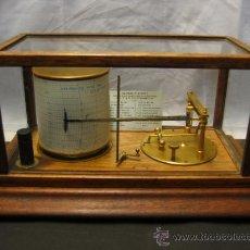 Antigüedades: IMPECABLE BAROGRAFO COMPLETO 1930. Lote 35944158