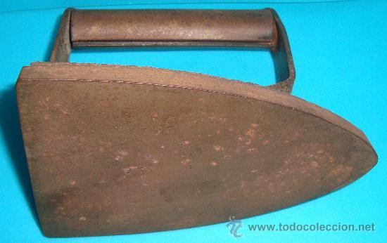 Antigüedades: ANTIGUA PLANCHA DE HIERRO - Foto 2 - 36033032
