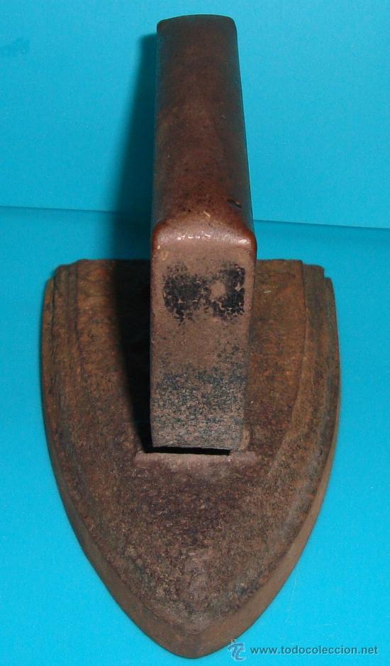 Antigüedades: ANTIGUA PLANCHA DE HIERRO - Foto 3 - 36033032