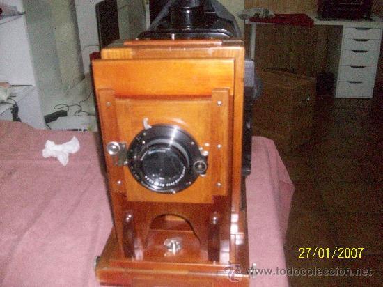 Antigüedades: camara de de fotos mui grande perfecta con caja - Foto 2 - 36040877