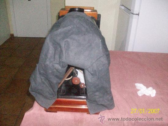 Antigüedades: camara de de fotos mui grande perfecta con caja - Foto 4 - 36040877