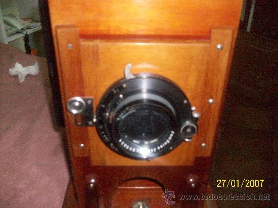 Antigüedades: camara de de fotos mui grande perfecta con caja - Foto 7 - 36040877
