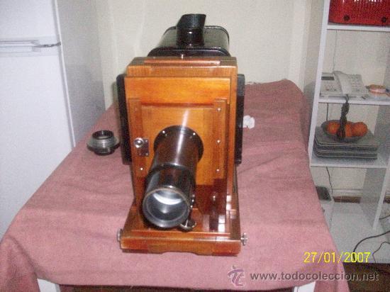 Antigüedades: camara de de fotos mui grande perfecta con caja - Foto 8 - 36040877