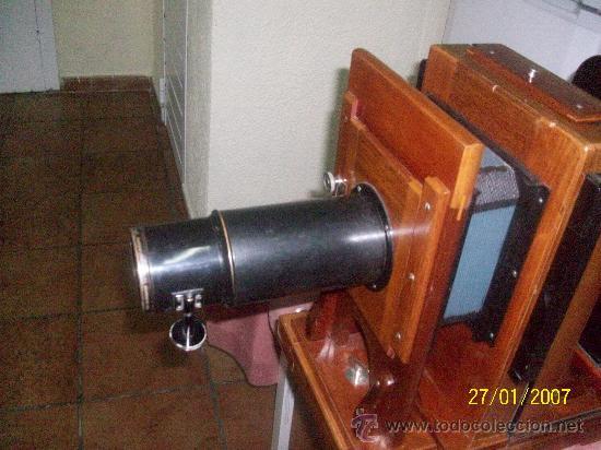Antigüedades: camara de de fotos mui grande perfecta con caja - Foto 9 - 36040877