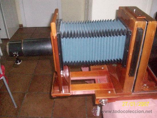 Antigüedades: camara de de fotos mui grande perfecta con caja - Foto 12 - 36040877