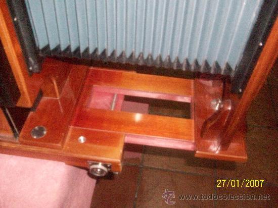 Antigüedades: camara de de fotos mui grande perfecta con caja - Foto 15 - 36040877