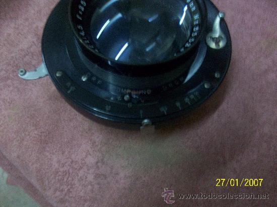 Antigüedades: camara de de fotos mui grande perfecta con caja - Foto 20 - 36040877