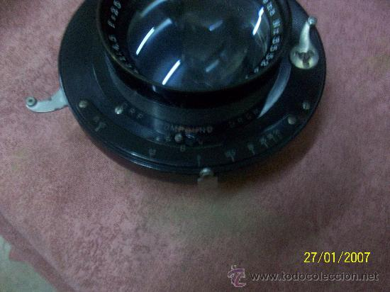 Antigüedades: camara de de fotos mui grande perfecta con caja - Foto 21 - 36040877