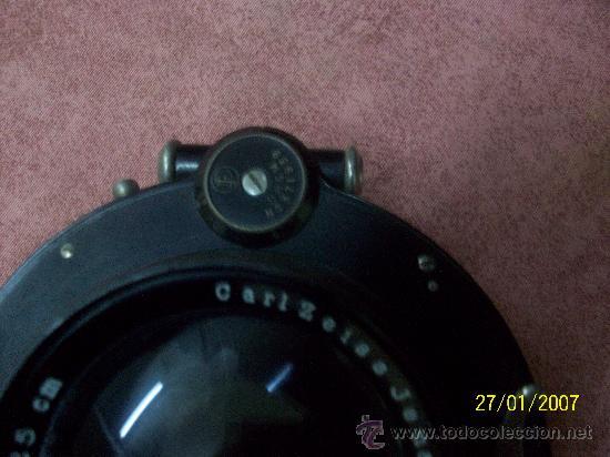Antigüedades: camara de de fotos mui grande perfecta con caja - Foto 22 - 36040877
