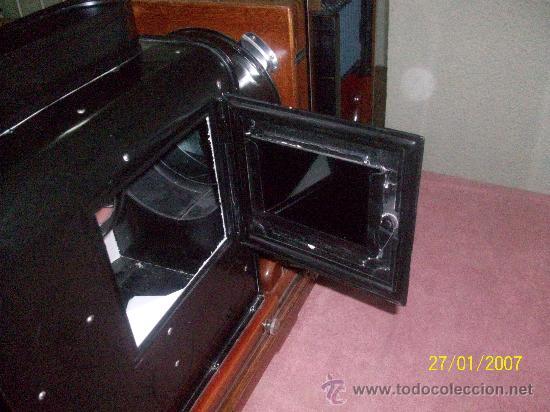 Antigüedades: camara de de fotos mui grande perfecta con caja - Foto 24 - 36040877
