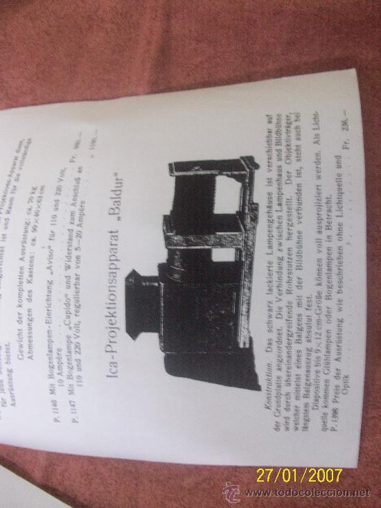Antigüedades: camara de de fotos mui grande perfecta con caja - Foto 29 - 36040877