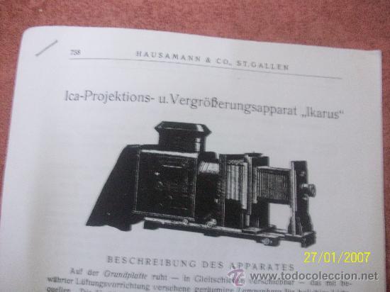 Antigüedades: camara de de fotos mui grande perfecta con caja - Foto 30 - 36040877