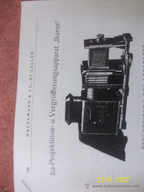 Antigüedades: camara de de fotos mui grande perfecta con caja - Foto 31 - 36040877