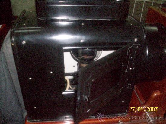 Antigüedades: camara de de fotos mui grande perfecta con caja - Foto 33 - 36040877
