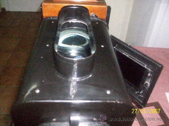 Antigüedades: camara de de fotos mui grande perfecta con caja - Foto 34 - 36040877
