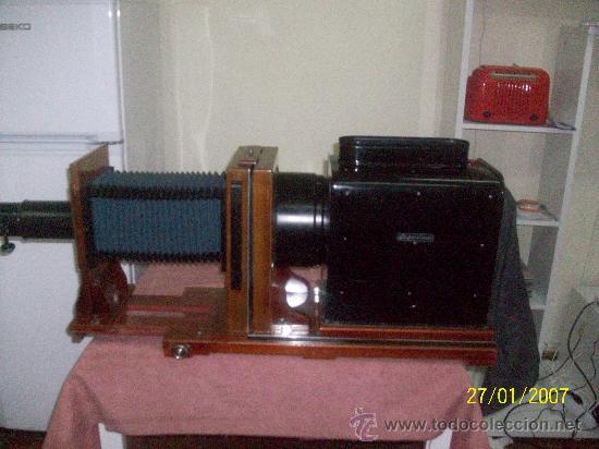 Antigüedades: camara de de fotos mui grande perfecta con caja - Foto 35 - 36040877