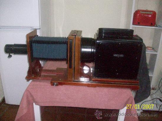 Antigüedades: camara de de fotos mui grande perfecta con caja - Foto 36 - 36040877