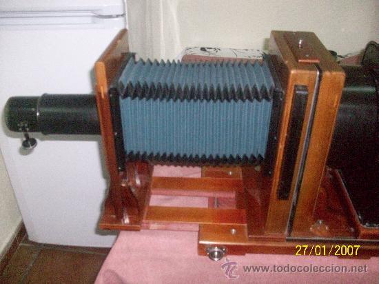 Antigüedades: camara de de fotos mui grande perfecta con caja - Foto 37 - 36040877