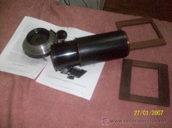 Antigüedades: camara de de fotos mui grande perfecta con caja - Foto 39 - 36040877