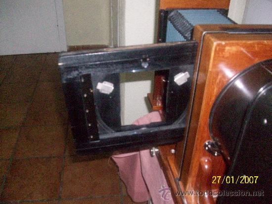 Antigüedades: camara de de fotos mui grande perfecta con caja - Foto 40 - 36040877