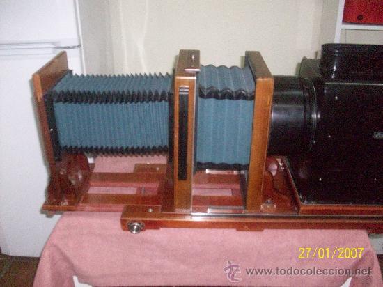 Antigüedades: camara de de fotos mui grande perfecta con caja - Foto 43 - 36040877