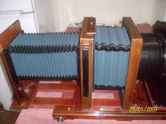 Antigüedades: camara de de fotos mui grande perfecta con caja - Foto 44 - 36040877