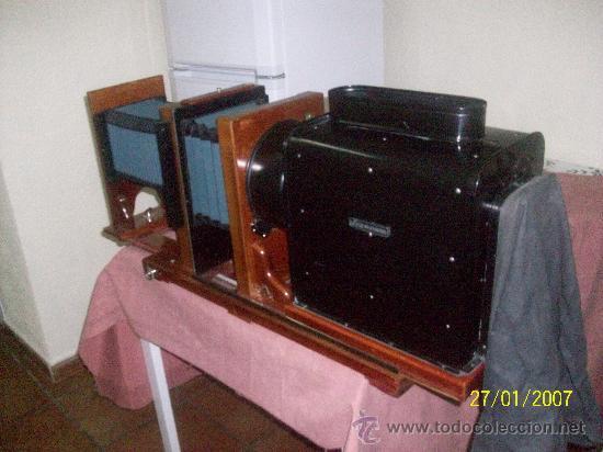 Antigüedades: camara de de fotos mui grande perfecta con caja - Foto 45 - 36040877