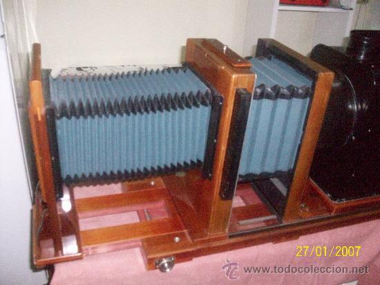 Antigüedades: camara de de fotos mui grande perfecta con caja - Foto 50 - 36040877