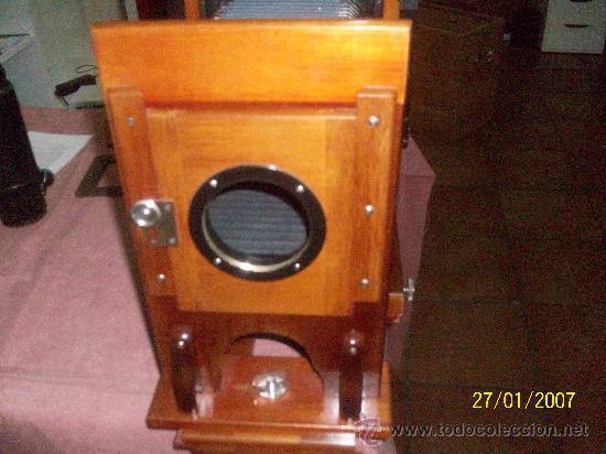 Antigüedades: camara de de fotos mui grande perfecta con caja - Foto 51 - 36040877