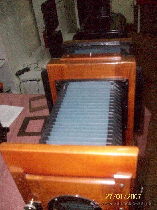 Antigüedades: camara de de fotos mui grande perfecta con caja - Foto 52 - 36040877