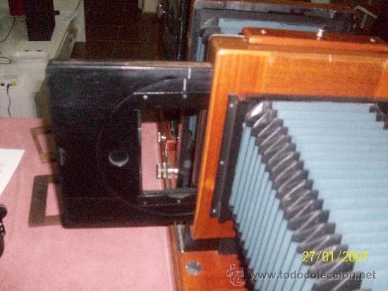 Antigüedades: camara de de fotos mui grande perfecta con caja - Foto 53 - 36040877