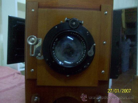 Antigüedades: camara de de fotos mui grande perfecta con caja - Foto 55 - 36040877
