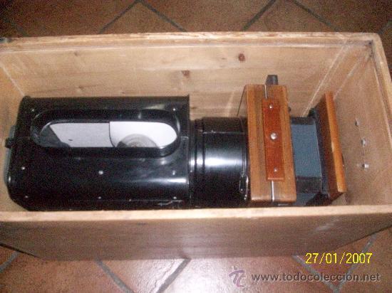 Antigüedades: camara de de fotos mui grande perfecta con caja - Foto 58 - 36040877