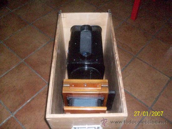 Antigüedades: camara de de fotos mui grande perfecta con caja - Foto 59 - 36040877