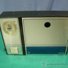 Antigüedades: ANTIGUO APARATO ELECTRICO PHILIPS MAQUINA PARA RAYOS UV FACIAL - FUNCIONANDO. Lote 36097255