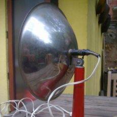 Antigüedades: ESTUFA VINTAGE LAMPARA CALEFACTOR DECO DESIGN FUNCIONA. Lote 36080488